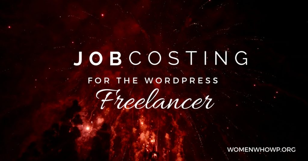 Job Costing for the WordPress Freelancer
